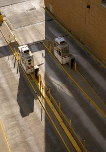 Parking Lot Safety Barrier